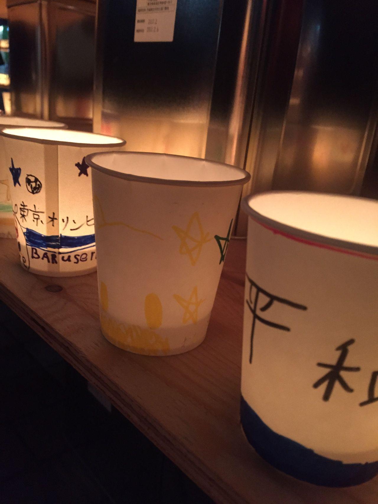 平和 Peace Candle Light PaperCups 祈り Prayer Forever Life Eternity Hope