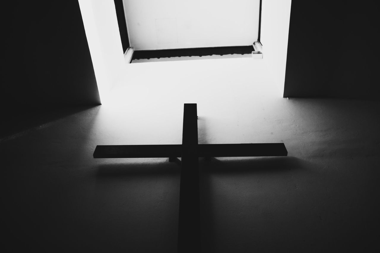 Indoors  No People Architecture Day EyeEm Gallery EyeEm Best Shots Black And White Blackandwhite Church Cross Jesus Christ Christianity Religion