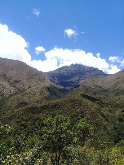 Cuicocha Beauty In Nature Cloud - Sky Day Landscape Mountain Nature No People Outdoors Scenics Sky Tranquil Scene Tranquility