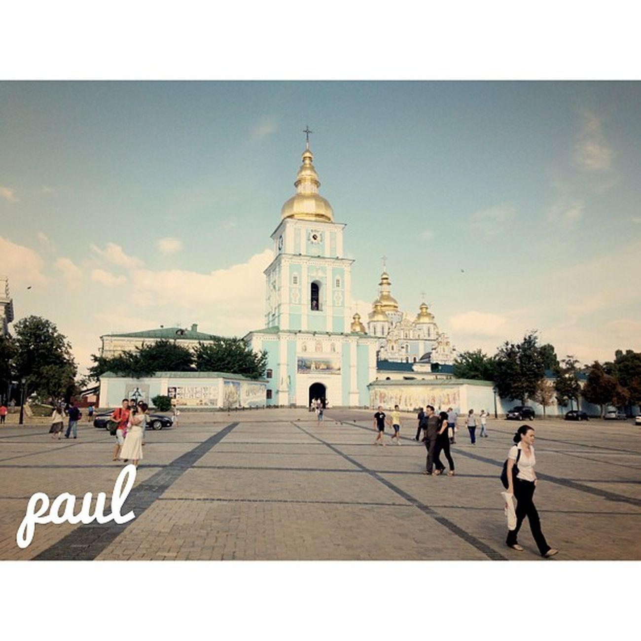 михайловский собор Киев прогулка фото instalook