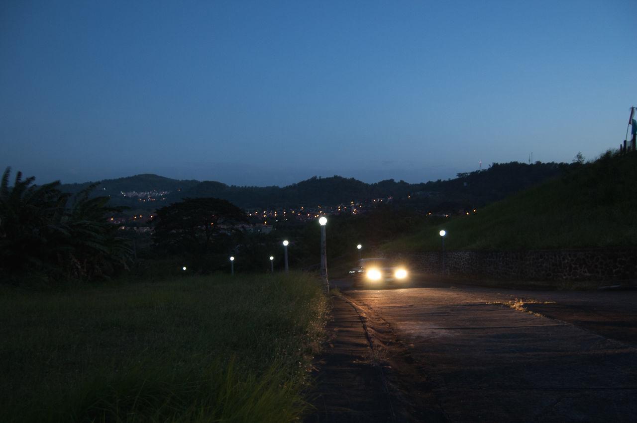 Night Illuminated Sky Outdoors