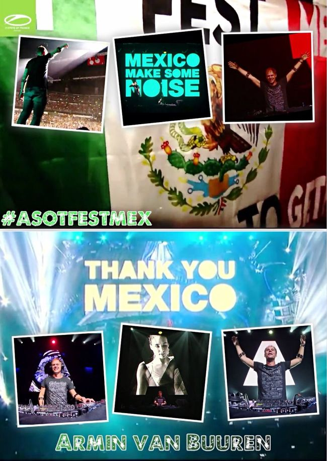 Together in A State Of Trance Festival Mexico 💞 🇲🇽 💞 ASOTFESTMEX ❤️