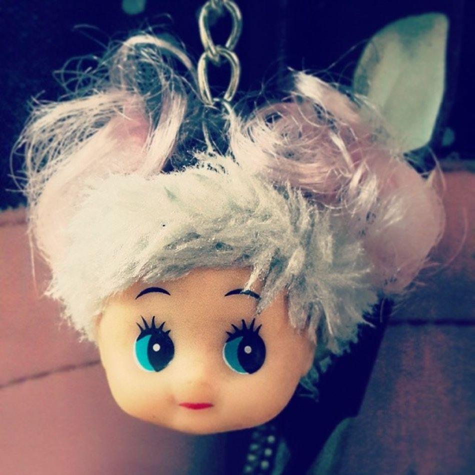Creepy Dollhead  Scary Dontknowwhereitcamefrom ???