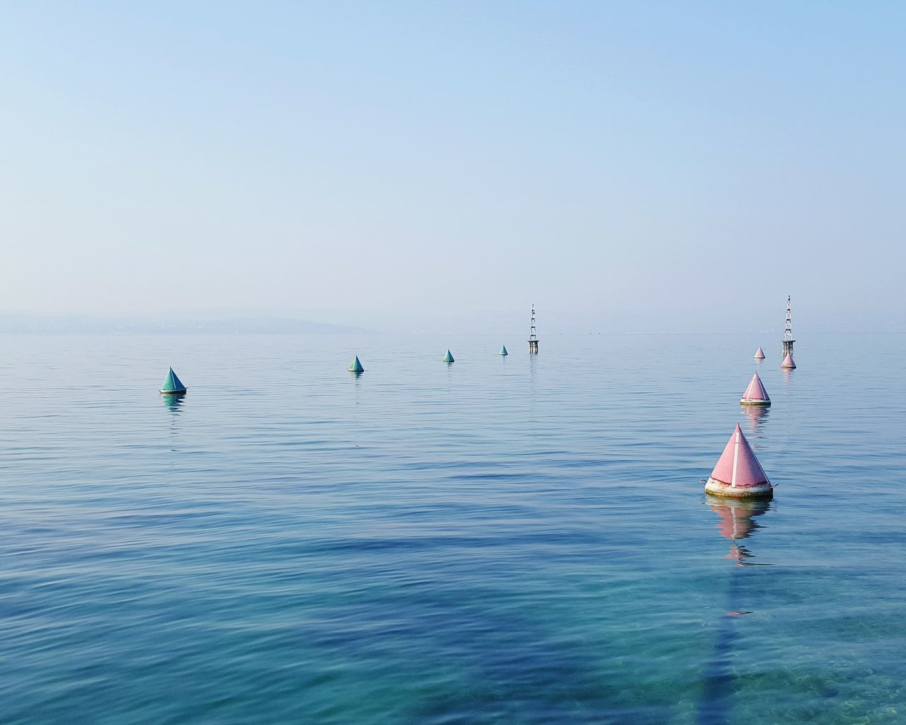 Beautiful stock photos of wasser, Beauty In Nature, Buoy, Clear Sky, Day