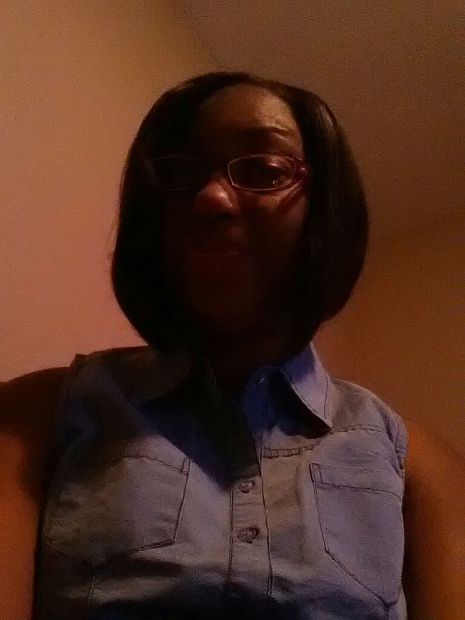 on my way out last night! too cute
