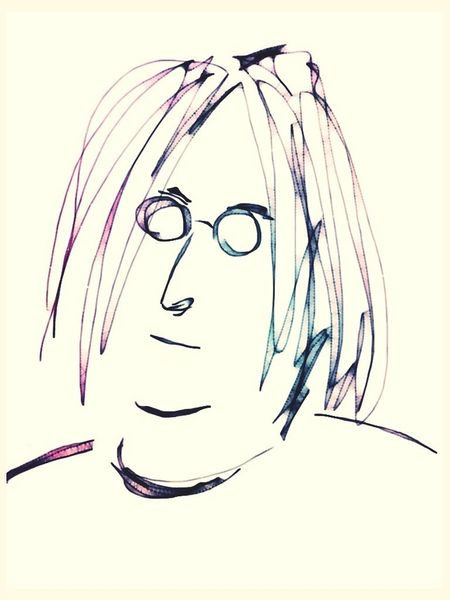The Beatles Sketches John Lennon