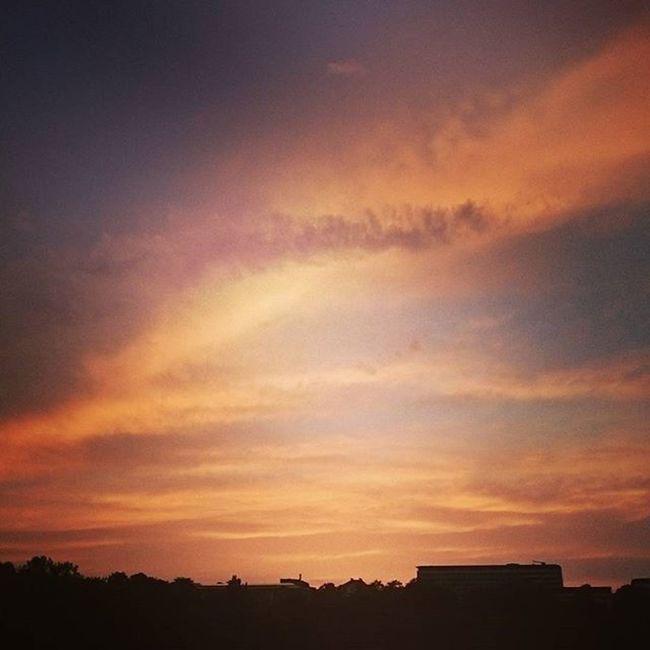 Kslive Kassel Kassel_de Casselfornia Sommer Sommer2015 Orangerie Sonnenuntergang Himmel Wolken Wolke Myfair