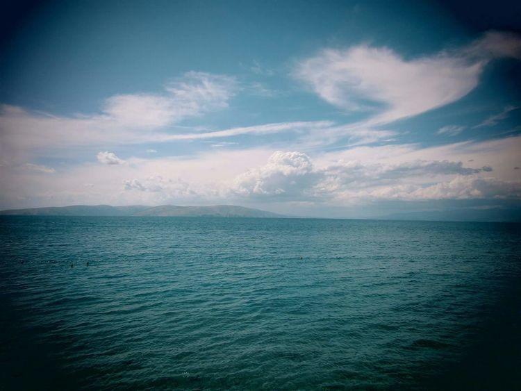 Sea Beauty In Nature Sky Water Cloud - Sky Beach Nature Beautifulday EyeEm EyeEm Gallery Adventure Beautifulview Photography Escapefromreality EyeEmNewHere Wanderlust EyeEmNewHere