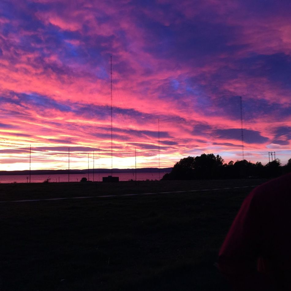 Jeløya Moss Norway Sky Sunset Cloud - Sky Silhouette Power Supply Beauty In Nature Cable Electricity  Outdoors Tree No People Connection Electricity Pylon Nature Day Byme 😆