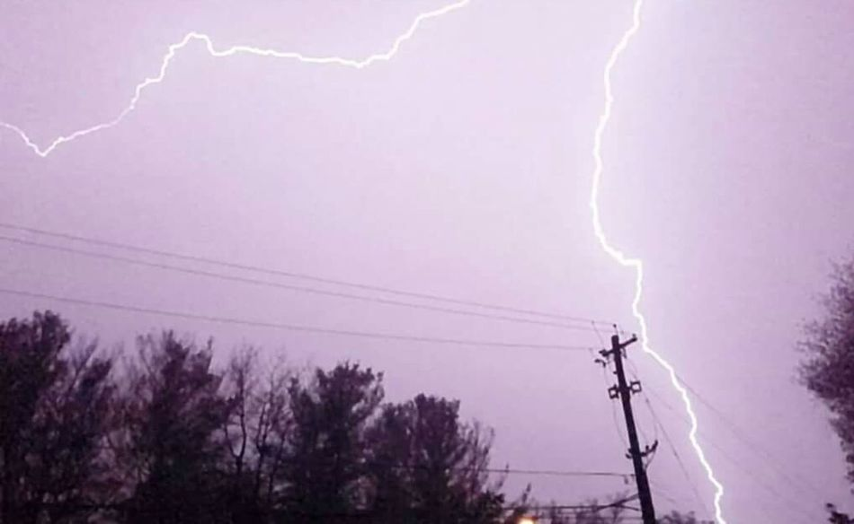 Lightening Strikes Weather Photography Check This Out First Eyeem Photo Purple Nautres Beauty Beautiful Lightening PowerfulI Love Storms I Can't Help MyselfI have so many photos. I probably should have become a storm chaser. I love a good storm... Powerful Nature Powerfull My Weakness  Nature Photography Natures Diversities