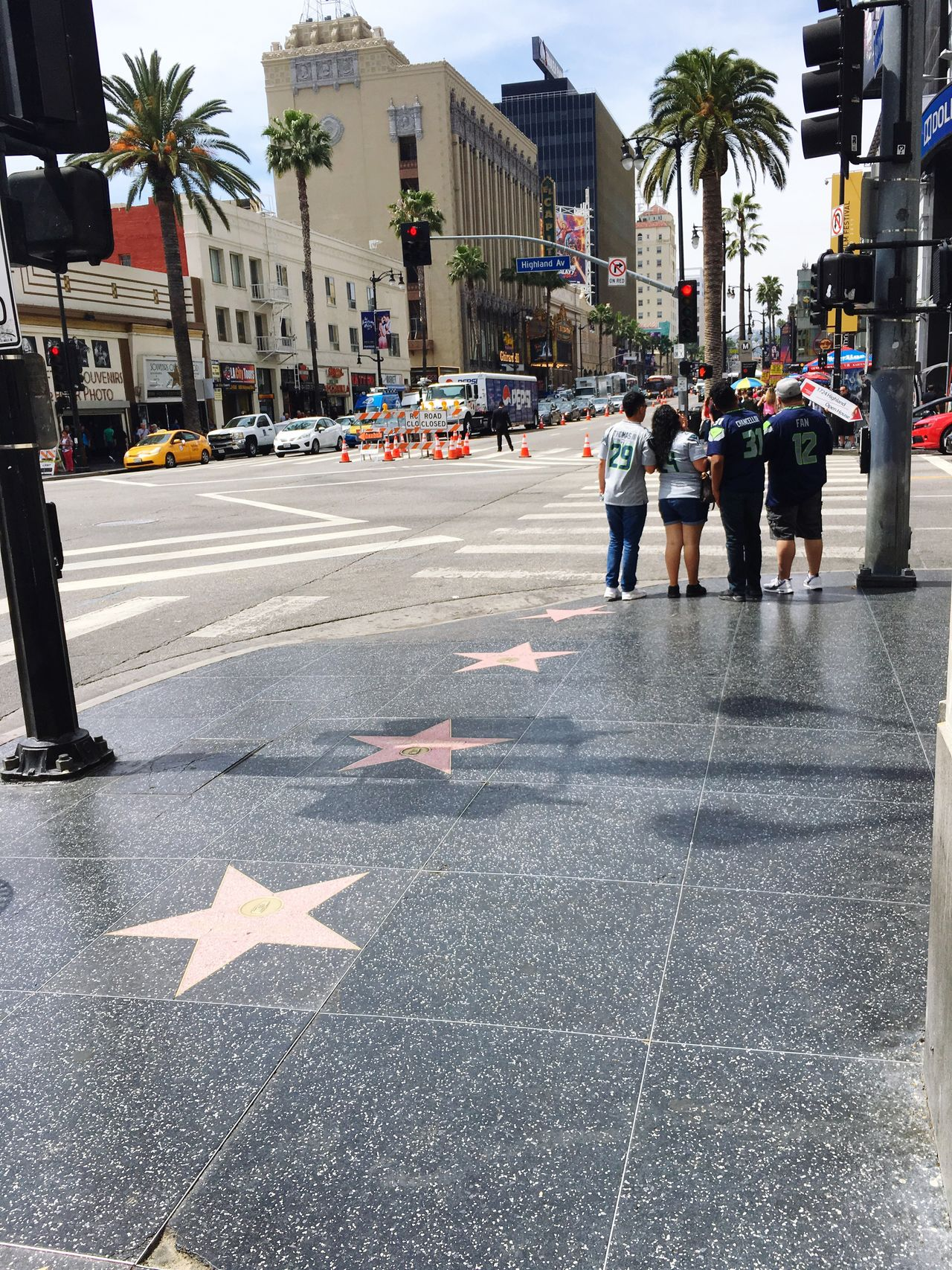 Hollywood walk of fame Road Streetphotography Walkoffame Losangeles Hollywood First Eyeem Photo