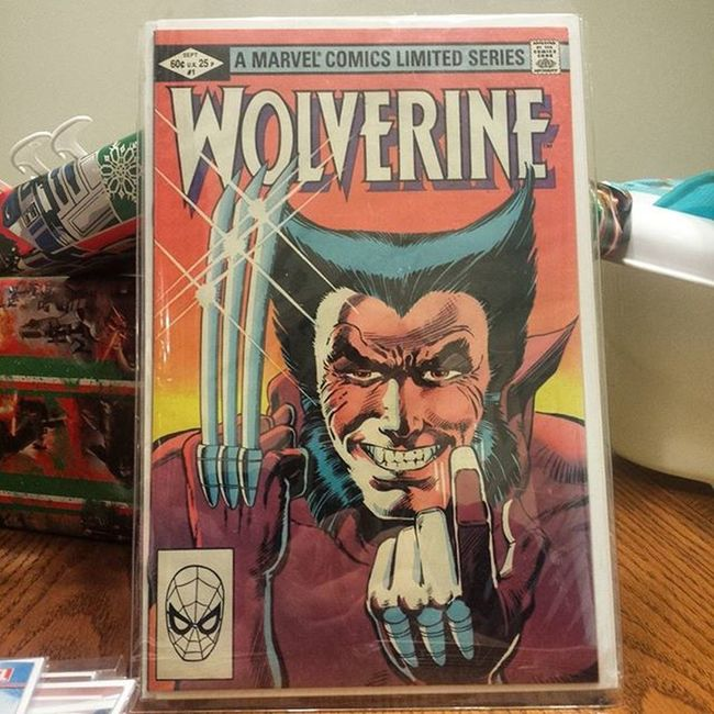 Thanks to @everythingcomicbooks for the deal on this awesome Wolverine 1 ! Marvel Marvelcomics Comics Comicbooks Comicbook Wolverine Logan Thebestatwhathedoes Xmen Mutant FrankMiller Comiccollection Comiccollector Comicbookcollection Comiccommunity Igcomicfamily