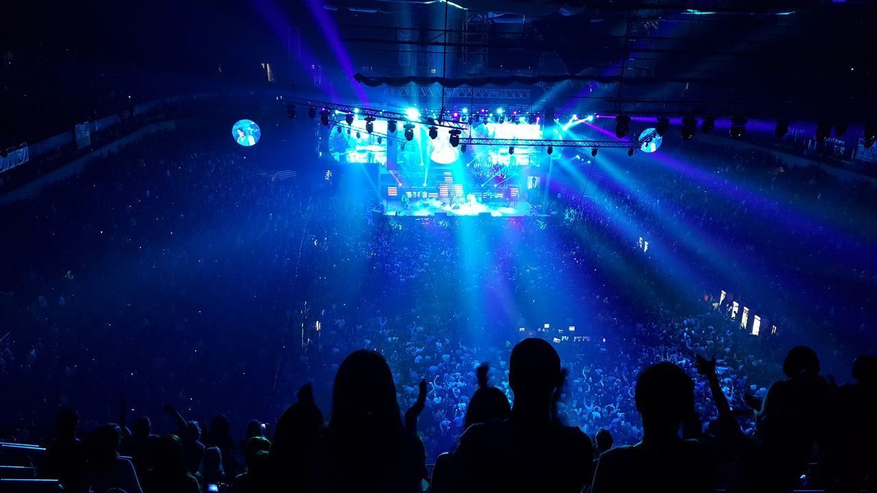 Arena Belgrade Bijelodugme Concerts_collection Music Concert Large Group Of People Indoors  Performance 20.000 People