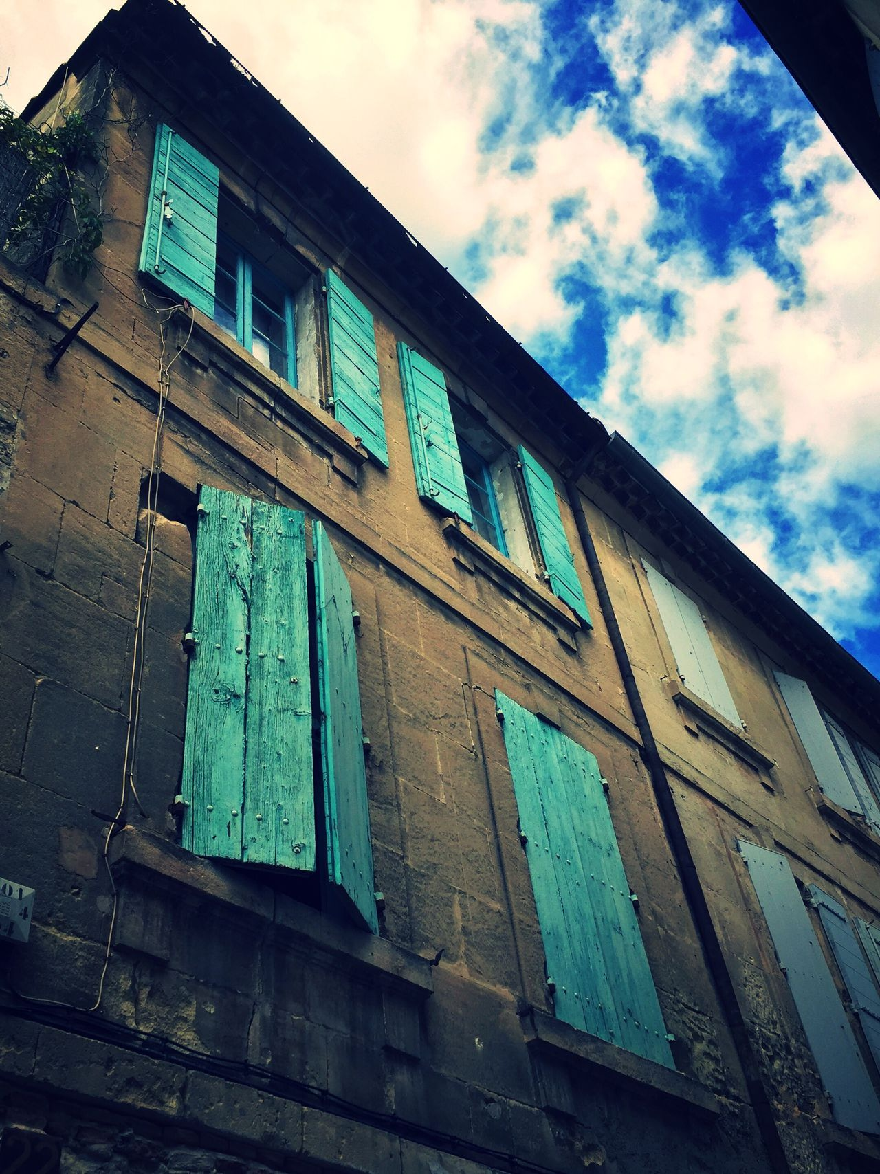Day Low Angle View Building Exterior Architecture Window Sky No People Cloud - Sky Built Structure Outdoors EyeEmNewHere Arles Provence France