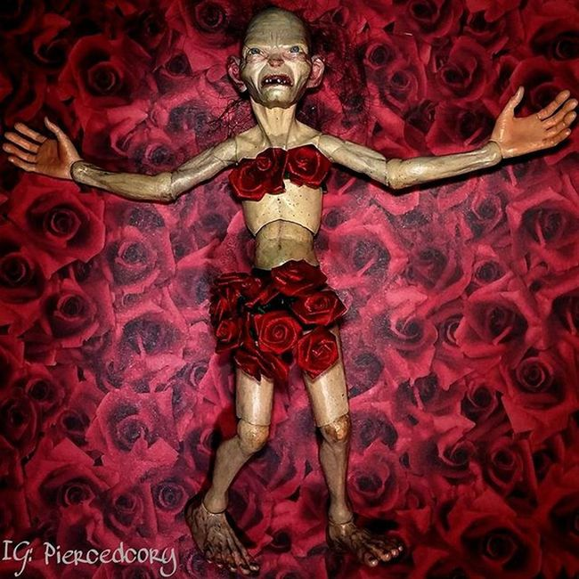 Middle Earth Beauty Tcb_alien_experts Americanbeauty Neca Gollum Toyhumor Ata_pickedbypaul Tcbc_valentines2016