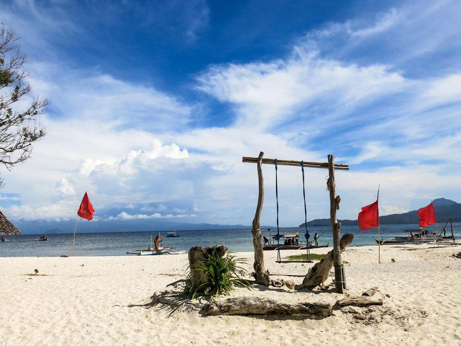 EyeEm Selects Beach Sand Sky Sea Cloud - Sky Outdoors Sunlight Nature Blue Day Horizon Over Water Water Camiguinisland Camiguin Philippines Travel Destinations MantigueIsland Mantigue Island Mantigueislandcamiguin EyeEmNewHere