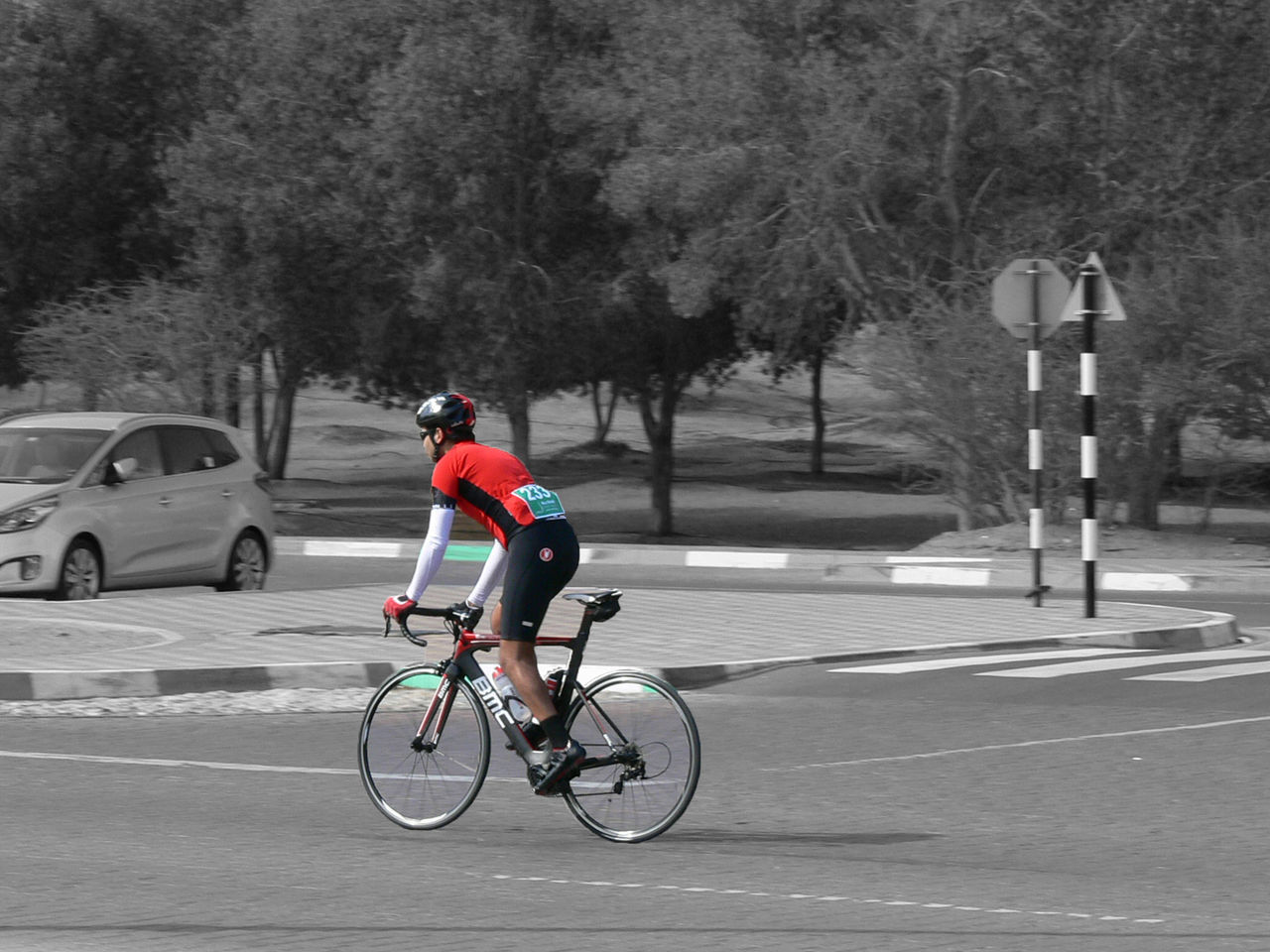 Nothing better than a morning traning while streets still empty and the wind flush your face refreshing ur mind <3 Adult Bicycle Blackandwhite Cycling Cycling Helmet Day Full Length Headwear One Man Only One Person Outdoors Sport Sports Photography Sports Wear Streetphotography Tree Young Adult