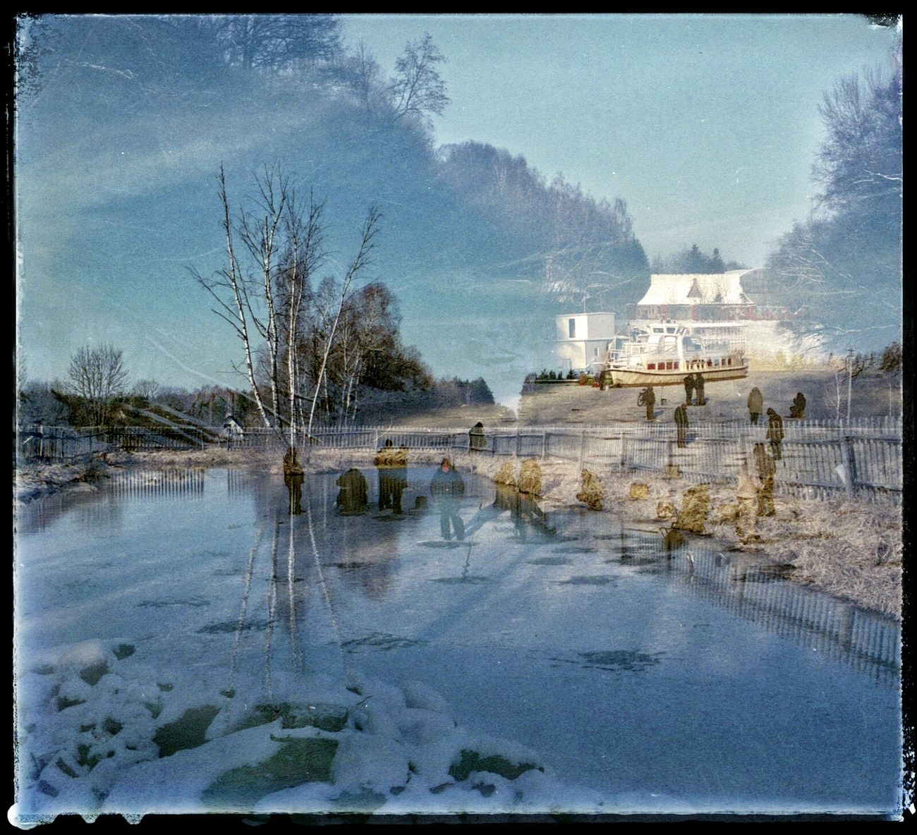 FilmSwap: Photographing the Elves II Film Swap Analogue Photography Elves Winter Lithuania Surreal Multiexposure  Double Exposure