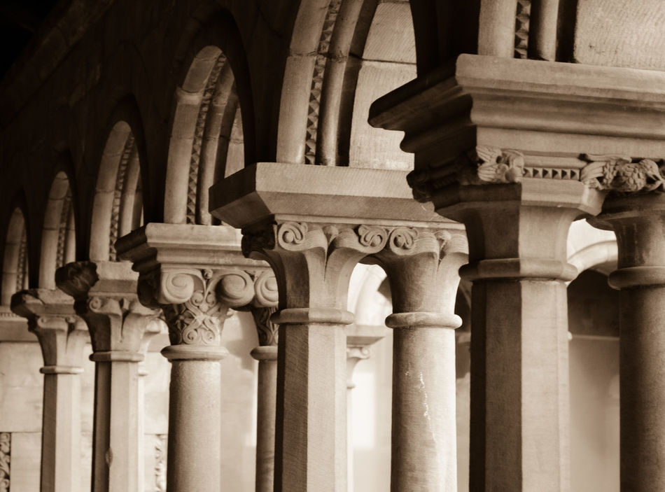 column Architectural Column Architecture Architecture Building Exterior Built Structure Cathedral Church Close-up Column Day Detail Flat GLASGOW CITY Historical History Homogenic No People Old Outdoors Pattern Pillar Rock Statue Stone Travel Destinations