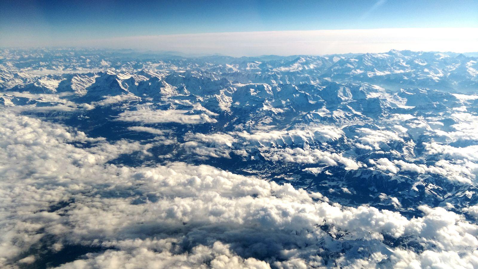 From Up Above No Border Sky And Clouds O Céu é O Limite Wanderlust