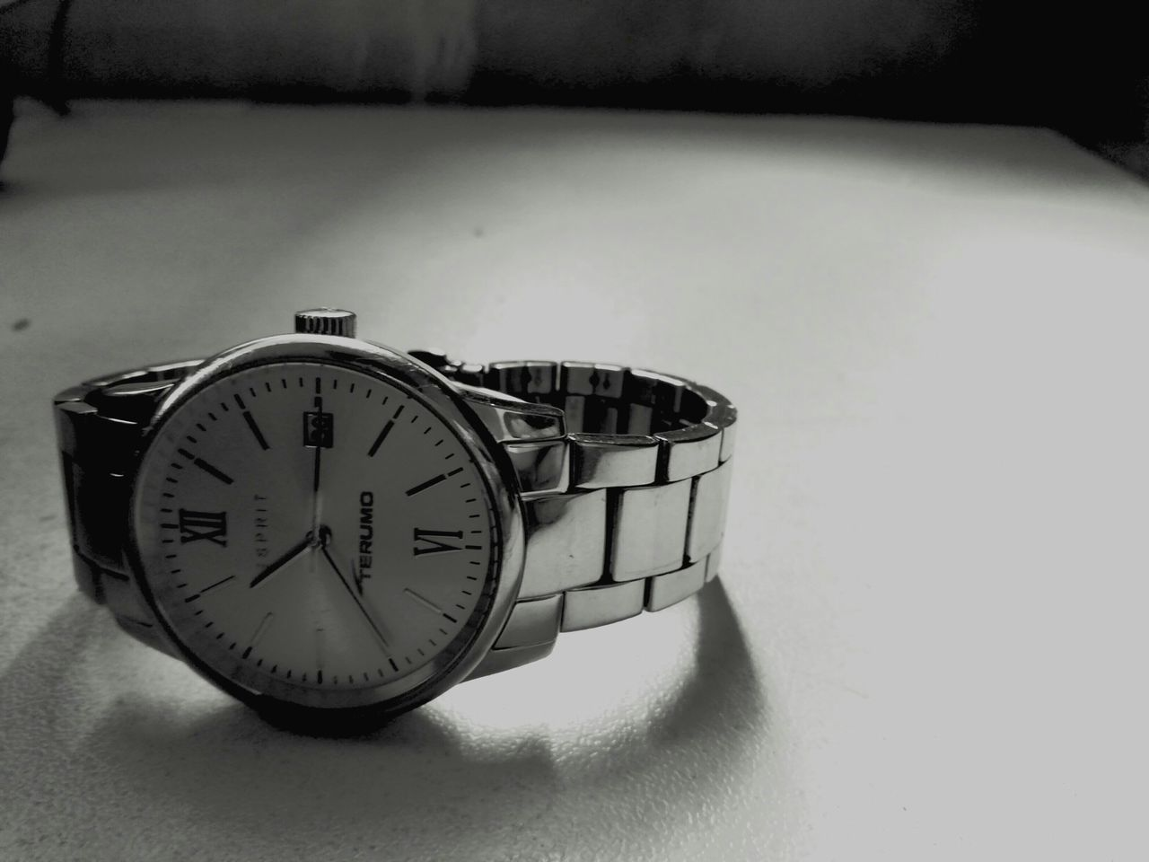 Blackandwhite Time Watch STAINLESSSTEEL Espirit Wristwatch