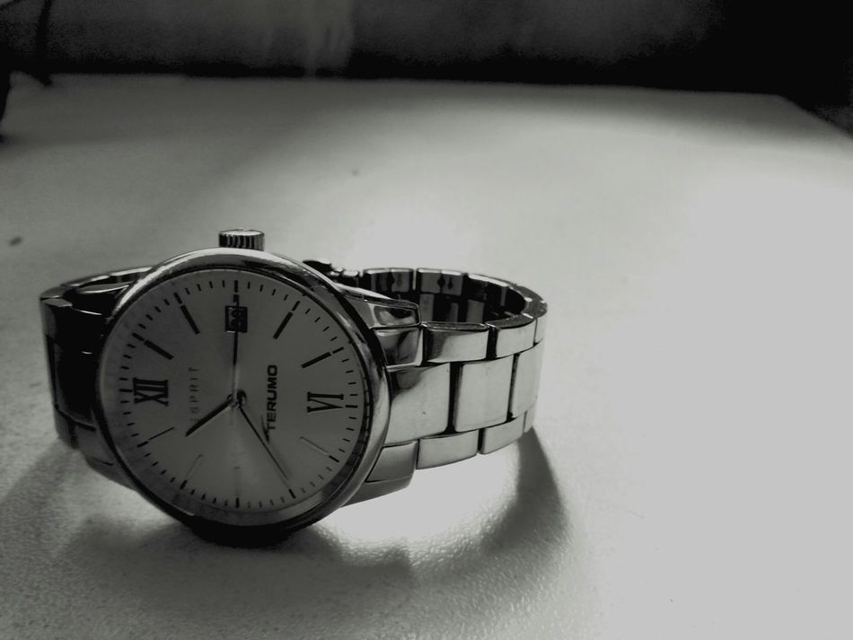 Blackandwhite Time Watch STAINLESSSTEEL Espirit Wristwatch
