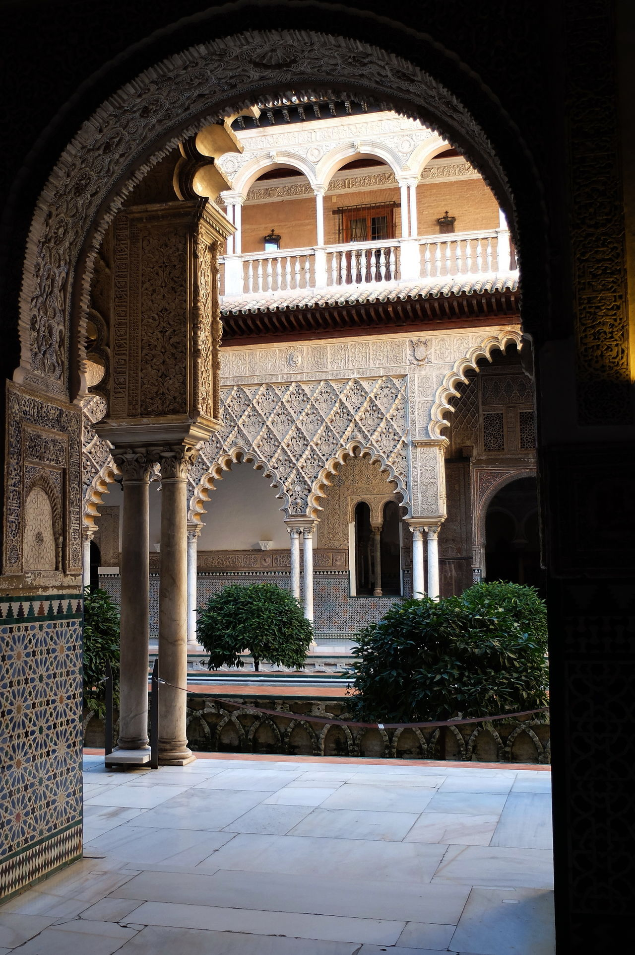 Jardines 2 Alcazar Arch Architecture Building Exterior Built Structure Day History Jardines De Alcazar Jardines Secretos No People Outdoors Place Of Worship Sevilla Travel Destinations
