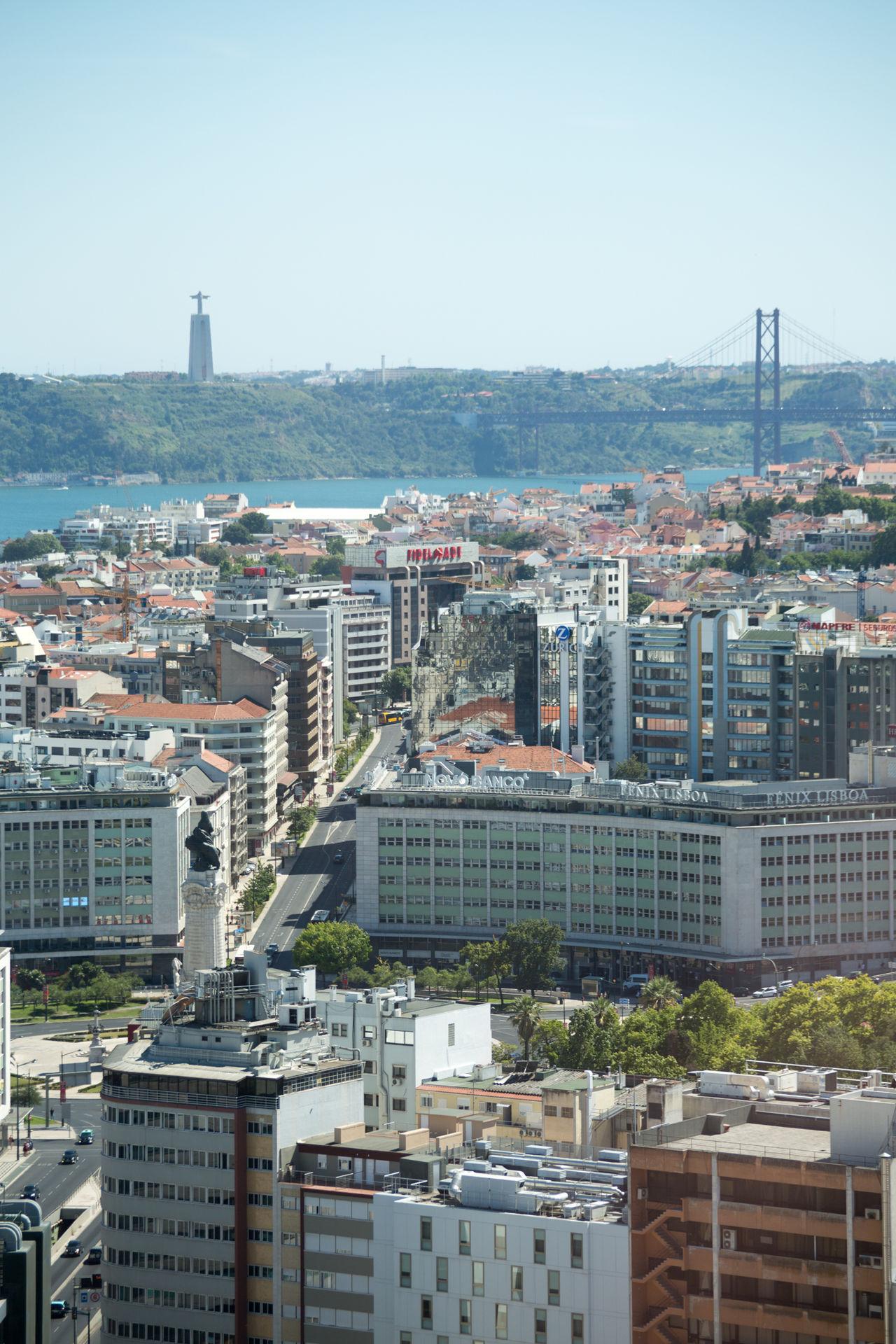 La vue du 25e etage du Sheraton Hotel de Lisbon SheratonHotel Portugal Lisbon - Portugal Lisbon Lisboa Cloud - Sky