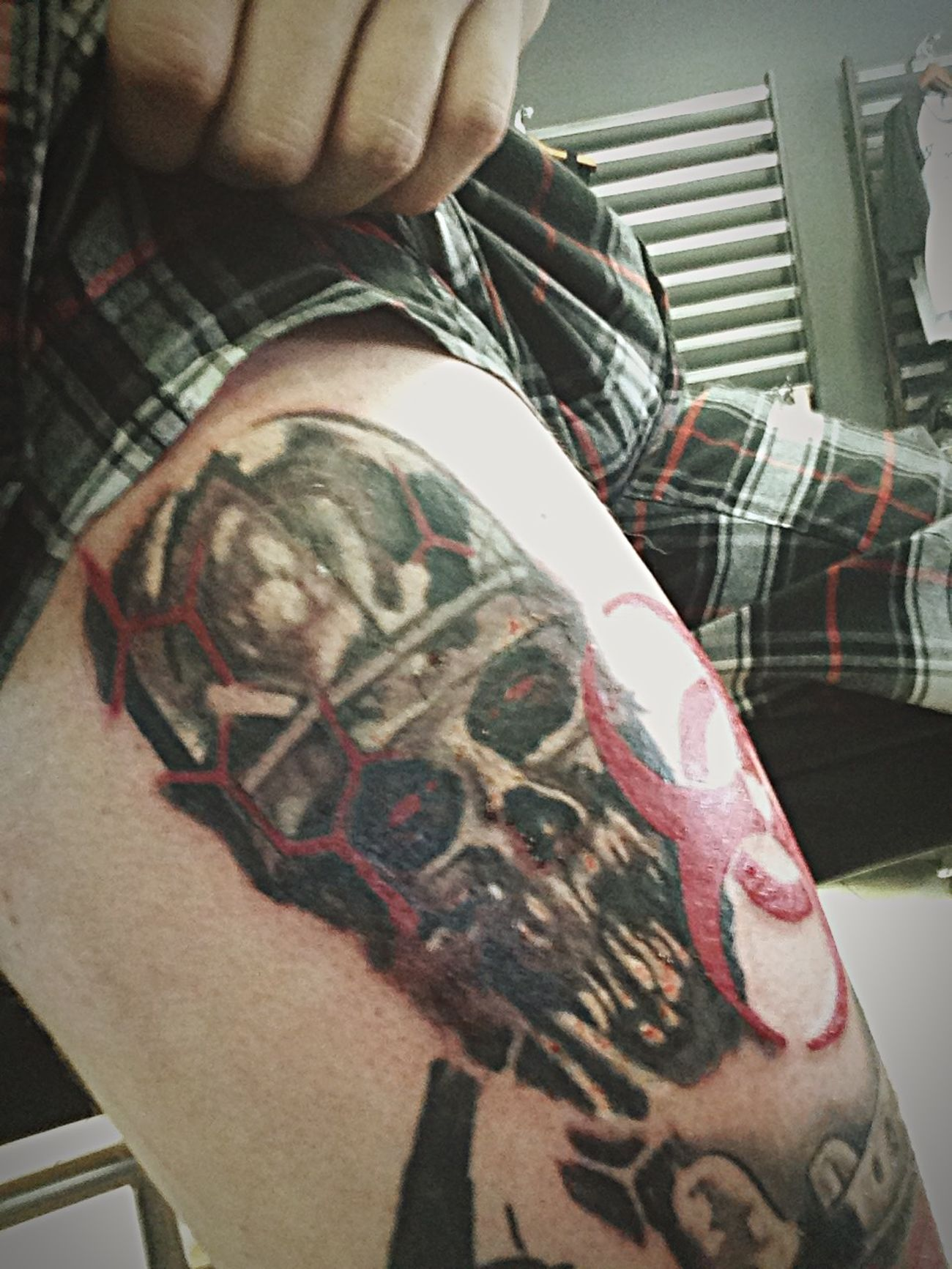 Hamilton Grim City Tattoo Club Tattoo Zombie Tattoo