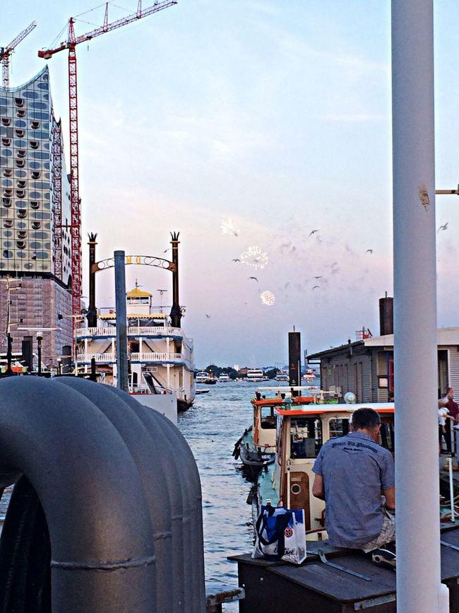 Hamburger Hafen Queen Mary 2 Ferien Ja,ja Und Ja !