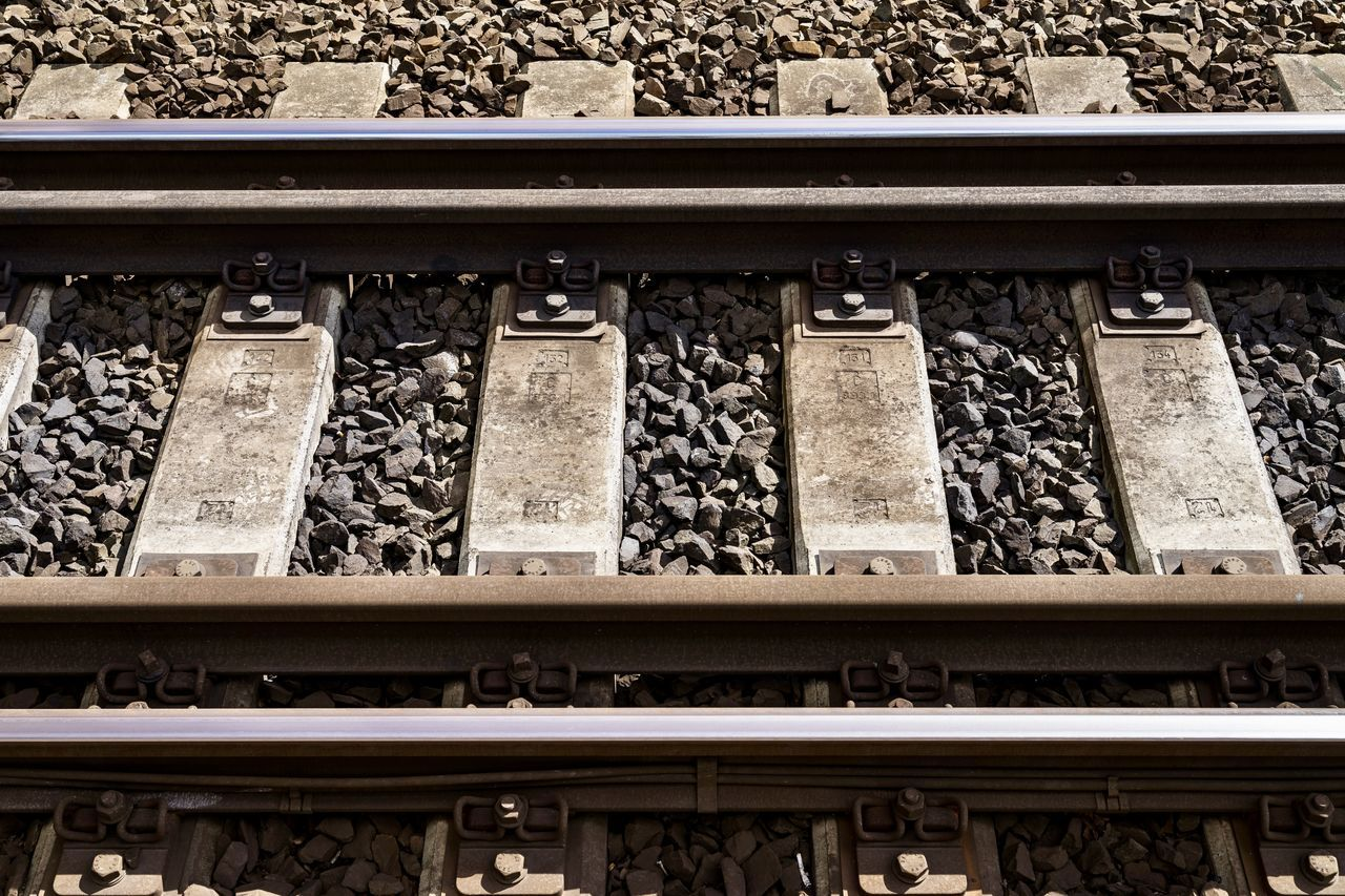 Public Transportation Railroad Track The Journey Is The Destination Vacations Close Up Close-up Day Destination High Angle View Minimalism No People Outdoors Public Transport Rail Transportation Railroad Railroad Tie Railroad Track Railway Railway Track Track Tracks Transportation Vacation