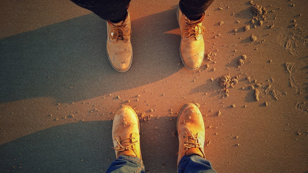 Sand Shoes Meandyou Sunset Walk Love Stay People Man Woman