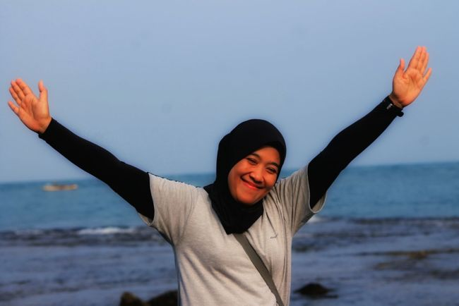 That's Me Ocean Photography Hello World Eyeemphotography Taking Photos Anyerbeach Indonesia_photography