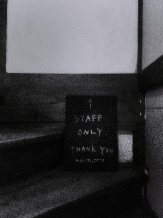 Feb 23,2016 TODAY'S MY WALLPAPER My Wallpaper Of Today Light And Shadow Blackandwhite Monochrome Monochrome_life Stairs Staff Only