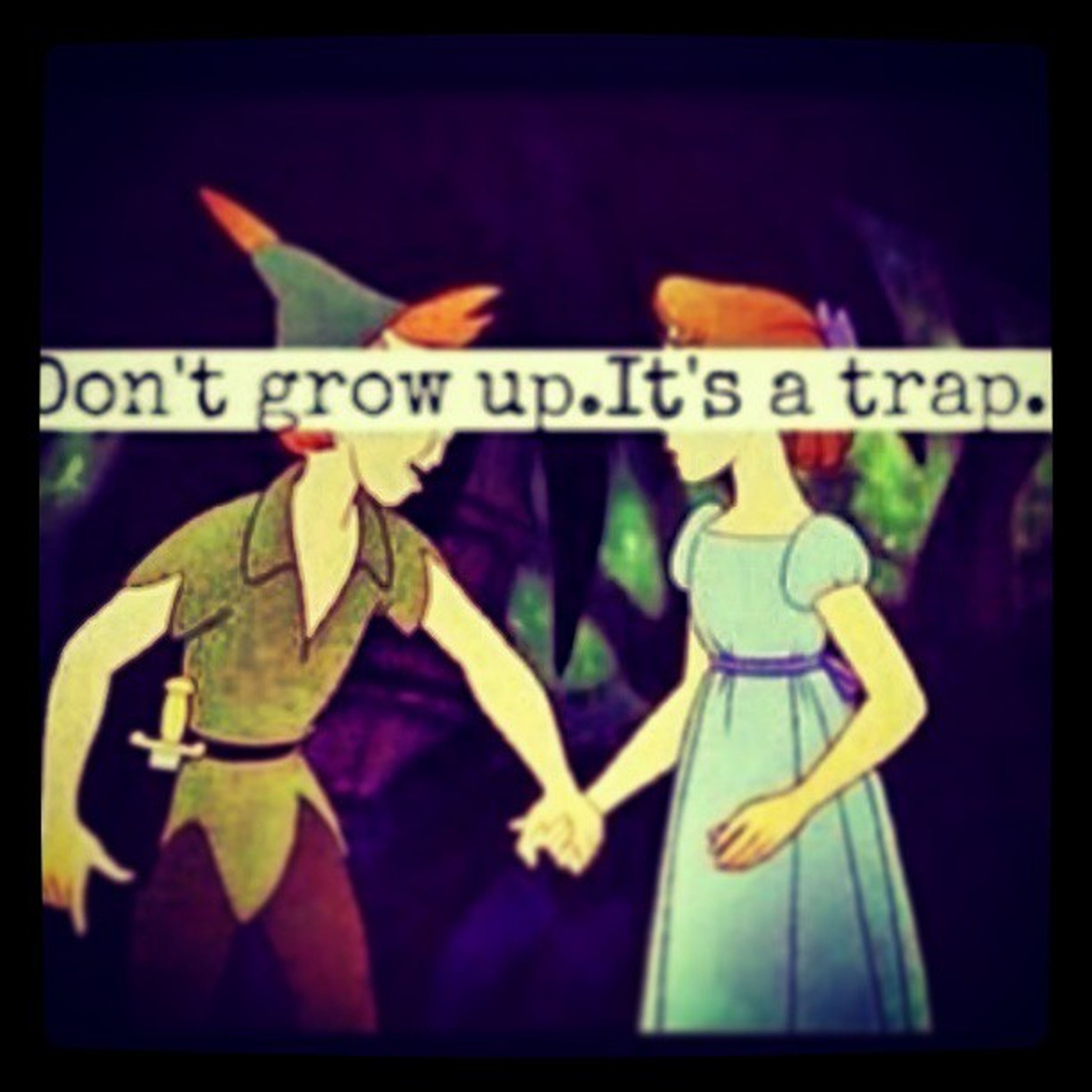 Just thoght all u guys should know I am not gomma grow up imma be 2 all der way Growuo Trap Wendyandpeter Fairytale  dieyoung