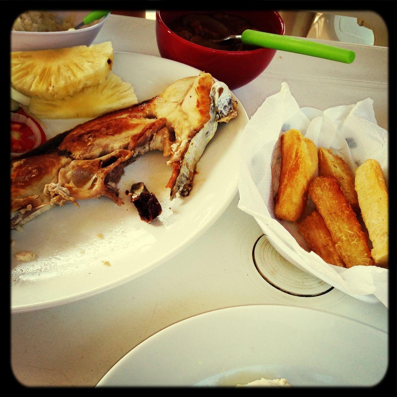 Depois de um lindo passeio... Um almoço muito gostoso!!!