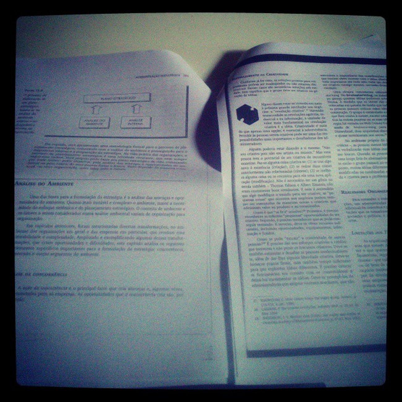 E o dia começa desse jeito.. Estudar  Teoriadaadministra ção