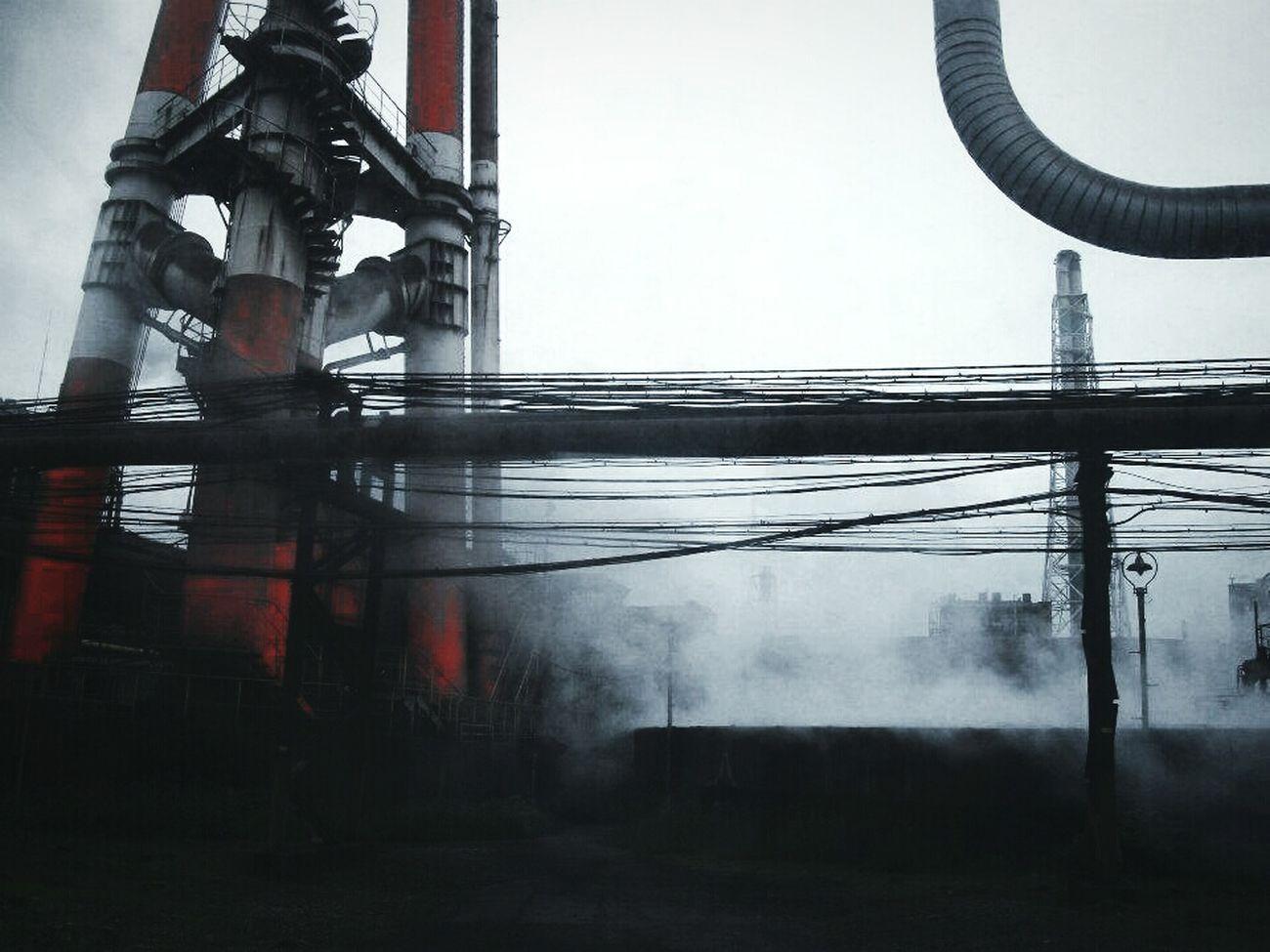 Where steampunk tales begin... Steampunk Steel Factory Japan KYUSHU Random Shots Factory