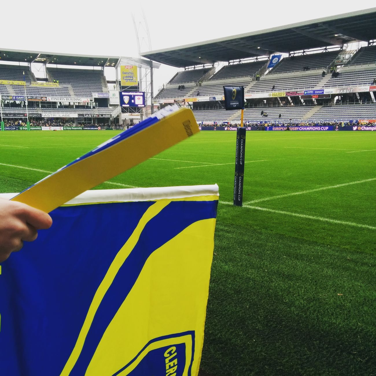 Apres-midi coupe d'Europe. ASM Ulster