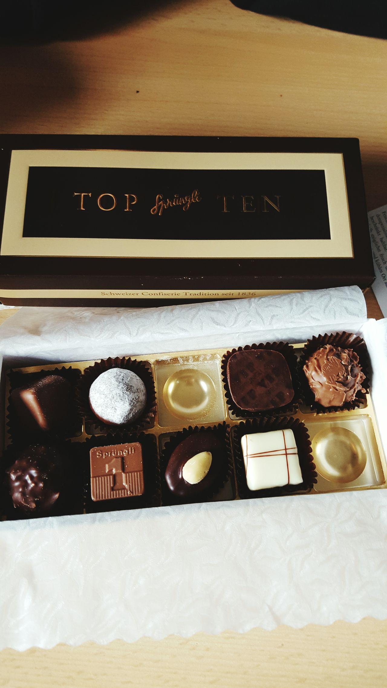 Sprüngli Chocolate Zurich, Switzerland