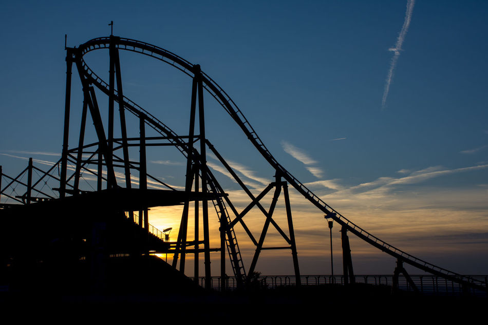 Evening No People Nuerburgring Nurburgring Outdoors Rollercoaster Sky Sunset