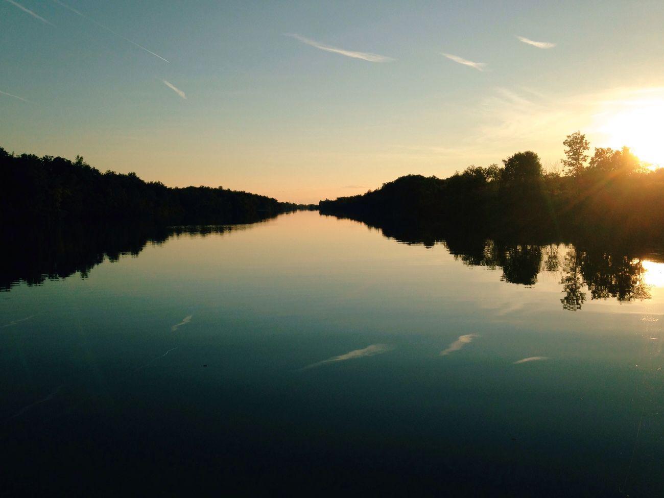 Time To Reflect Sunset Landscape