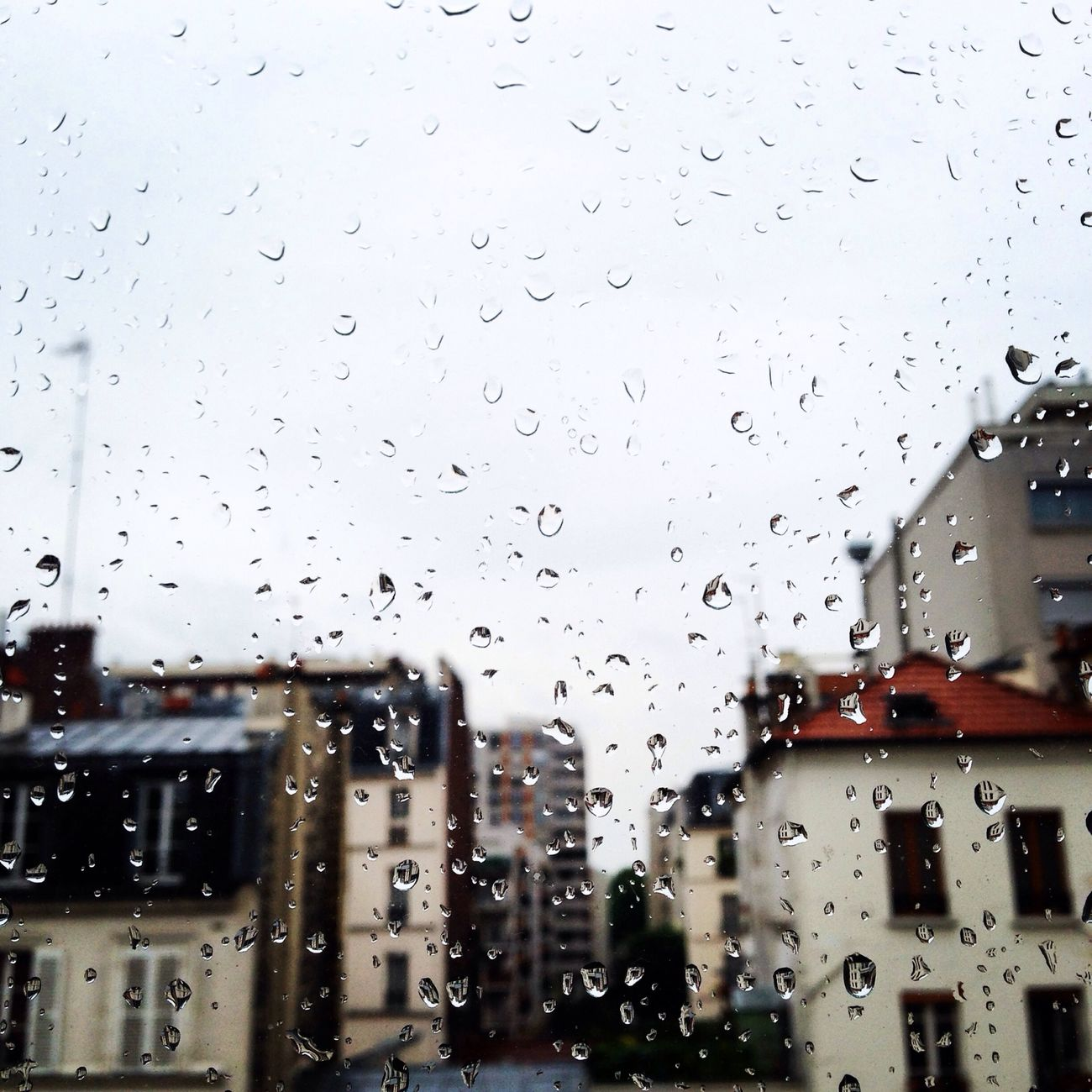 The View From My Window Rain Drops Paris