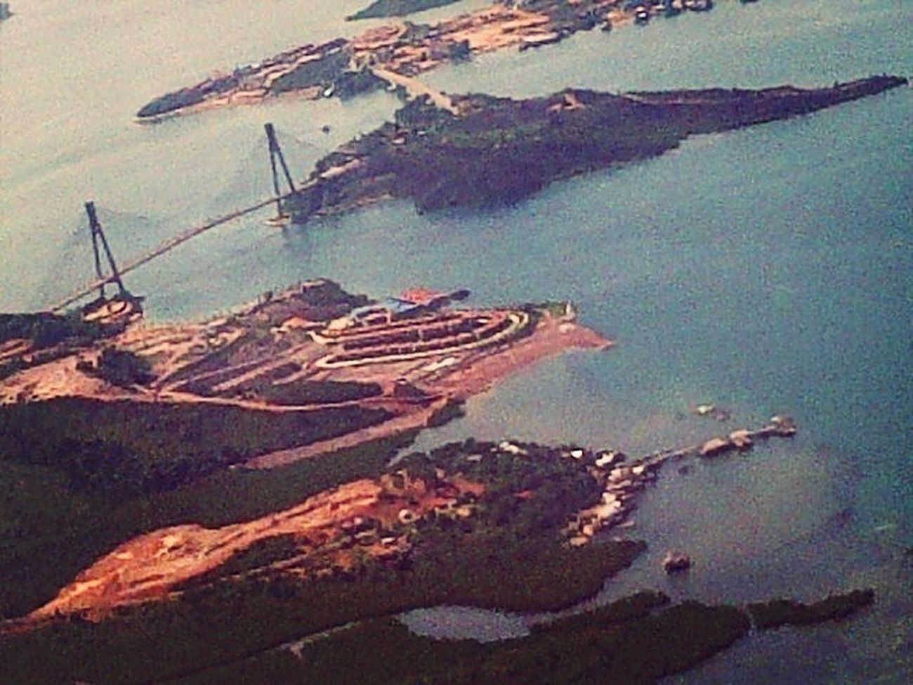 On A Higher Plane Barelang Bridge In Batam Island INDONESIA