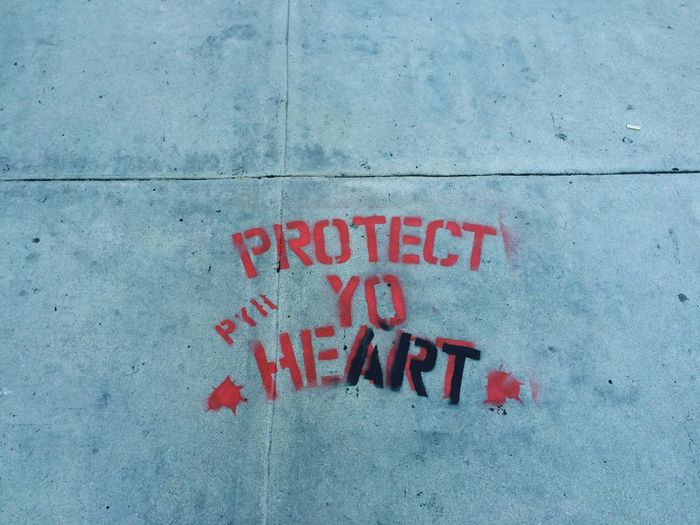 It's a dog eat dog world out there kid. Protectyourheart