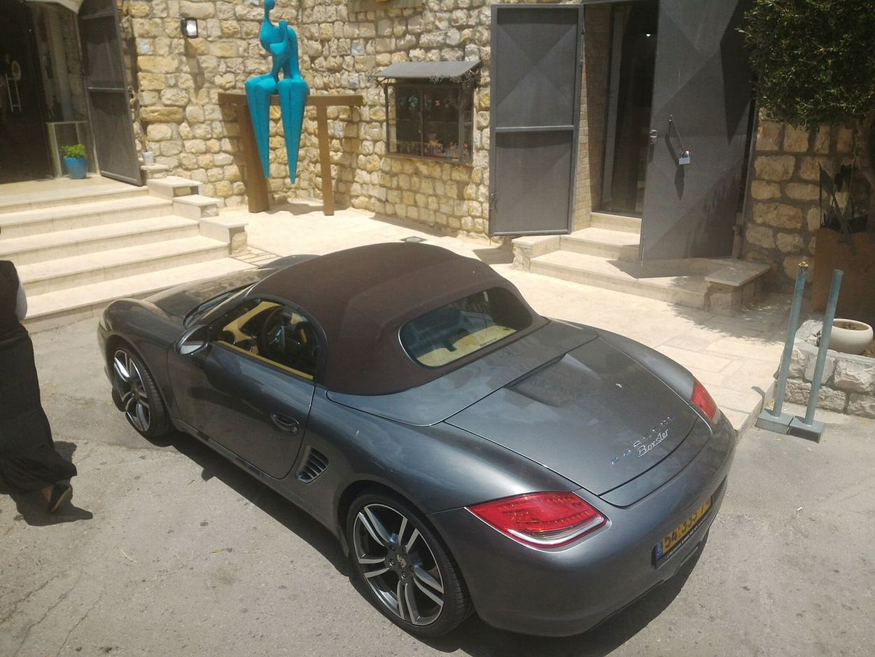 Porshe Sefad Tzfat Israel Outside Old City Car Sportscar Meinautomoment Mein Automoment