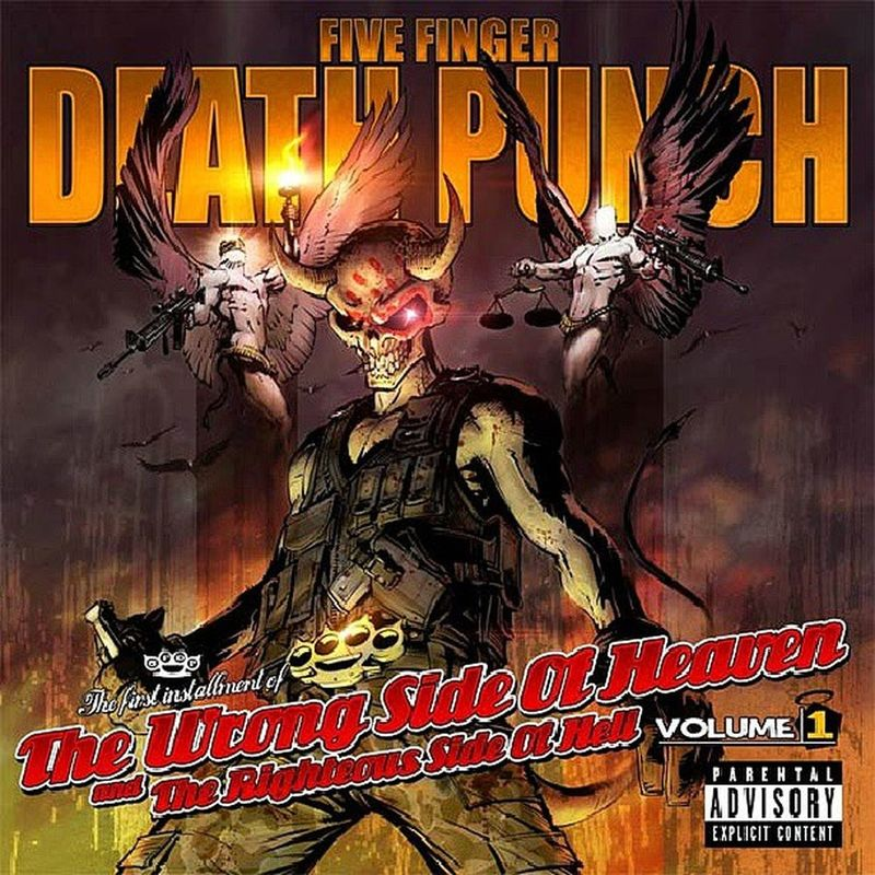 Onair Finally Fullimmersion Fivefingerdeathpunch 5FDP TheWrongSideOfHeavenAndTheRighteousSideOfHell Volume1