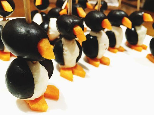 Penguins food