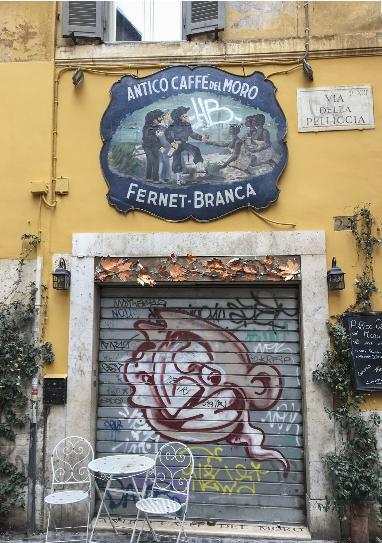 Rione Trastevere Bar del moro City Day Handwriting  Multi Colored No People Outdoors Signboard Trastevere Travel Destinations