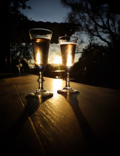 Alcohol Food And Drink Drink Table Refreshment Drinking Glass No People Silhouette Cocktail Shadow Close-up Beauty In Nature Wineglassan wine] wineglassMartiniiIndoors sFreshnesssIlluminateddTreeeSkyyNaturee
